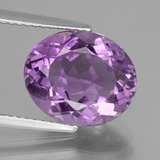 thumb image of 4.5ct Oval Facet Violet Amethyst (ID: 435478)