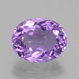 thumb image of 3.7ct Oval Facet Violet Amethyst (ID: 435647)