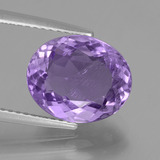 thumb image of 4ct Oval Facet Violet Amethyst (ID: 435687)