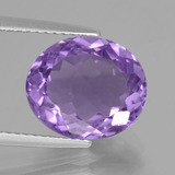 thumb image of 4.3ct Oval Facet Violet Amethyst (ID: 435688)