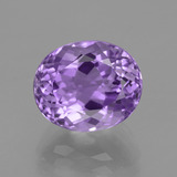 thumb image of 5.3ct Oval Facet Violet Amethyst (ID: 435770)