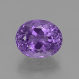 thumb image of 5.1ct Oval Facet Violet Amethyst (ID: 435771)