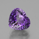 thumb image of 2.7ct Heart Facet Violet Amethyst (ID: 435906)