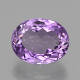 thumb image of 3.7ct Oval Facet Violet Amethyst (ID: 435947)