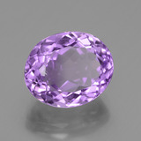 4.23 ct Oval Facet Violet Amethyst Gem 11.14 mm x 9.2 mm (Photo B)