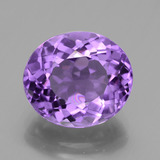 thumb image of 4.8ct Oval Facet Violet Amethyst (ID: 436279)
