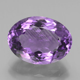 thumb image of 4.6ct Oval Facet Violet Amethyst (ID: 437731)