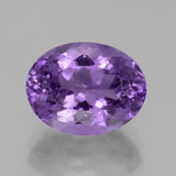 thumb image of 4.5ct Oval Facet Violet Amethyst (ID: 437903)