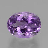 thumb image of 4.2ct Oval Facet Violet Amethyst (ID: 437980)