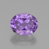 thumb image of 2.7ct Oval Facet Violet Amethyst (ID: 438255)
