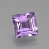 thumb image of 3ct Square Facet Violet Amethyst (ID: 438879)