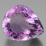 thumb image of 90.7ct Pear Facet Violet Amethyst (ID: 439482)