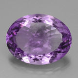 thumb image of 31.2ct Oval Portuguese-Cut Violet Amethyst (ID: 439600)