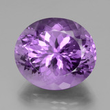thumb image of 28.2ct Oval Portuguese-Cut Violet Amethyst (ID: 439601)