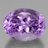thumb image of 39ct Oval Portuguese-Cut Violet Amethyst (ID: 439669)