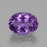 thumb image of 3.6ct Oval Facet Violet Amethyst (ID: 440372)