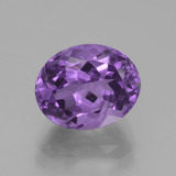 thumb image of 3.7ct Oval Facet Violet Amethyst (ID: 440377)