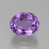 thumb image of 3.8ct Oval Facet Violet Amethyst (ID: 442084)