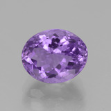 thumb image of 3.6ct Oval Facet Violet Amethyst (ID: 442086)