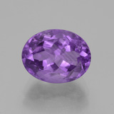 thumb image of 3.6ct Oval Facet Violet Amethyst (ID: 442093)