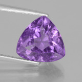 thumb image of 4.7ct Trillion Facet Violet Amethyst (ID: 442282)