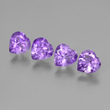 thumb image of 2.4ct Heart Facet Violet Amethyst (ID: 443510)