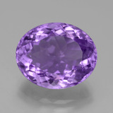 thumb image of 6.8ct Oval Facet Violet Amethyst (ID: 446250)