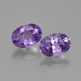 thumb image of 1.5ct Oval Facet Violet Amethyst (ID: 448770)
