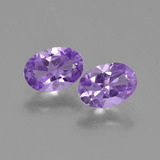 thumb image of 1.2ct Oval Facet Violet Amethyst (ID: 448773)