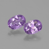 thumb image of 1.4ct Oval Facet Violet Amethyst (ID: 448824)