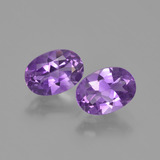 thumb image of 1.5ct Oval Facet Violet Amethyst (ID: 448825)