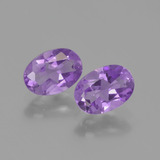 thumb image of 1.5ct Oval Facet Violet Amethyst (ID: 448827)