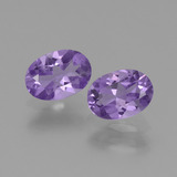 thumb image of 1.2ct Oval Facet Violet Amethyst (ID: 448870)