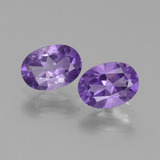 thumb image of 1.4ct Oval Facet Violet Amethyst (ID: 448877)