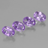 thumb image of 2.9ct Oval Facet Violet Amethyst (ID: 448965)