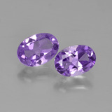 thumb image of 1.3ct Oval Facet Violet Amethyst (ID: 449118)
