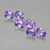 thumb image of 4.1ct Oval Facet Violet Amethyst (ID: 449129)