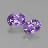 thumb image of 1.4ct Oval Facet Violet Amethyst (ID: 449145)