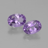 thumb image of 1.5ct Oval Facet Violet Amethyst (ID: 449154)