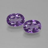 thumb image of 1.2ct Oval Facet Violet Amethyst (ID: 449224)