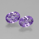 thumb image of 1.2ct Oval Facet Violet Amethyst (ID: 449268)