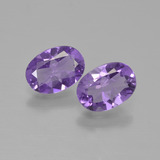 thumb image of 1.3ct Oval Facet Violet Amethyst (ID: 449270)