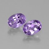 thumb image of 1.5ct Oval Facet Violet Amethyst (ID: 449271)