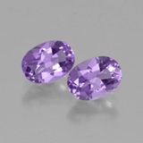 thumb image of 1.5ct Oval Facet Violet Amethyst (ID: 449276)