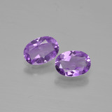 thumb image of 1.2ct Oval Facet Violet Amethyst (ID: 449320)