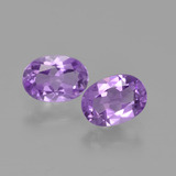 thumb image of 1.3ct Oval Facet Violet Amethyst (ID: 449364)