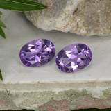 thumb image of 1.5ct Oval Facet Violet Amethyst (ID: 449372)