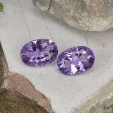 thumb image of 1.3ct Oval Facet Violet Amethyst (ID: 449436)