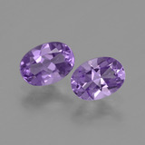 thumb image of 0.7ct Ovale facette Violet Améthyste (ID: 449437)