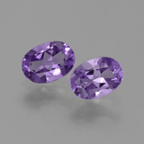 thumb image of 1.3ct Oval Facet Violet Amethyst (ID: 449440)
